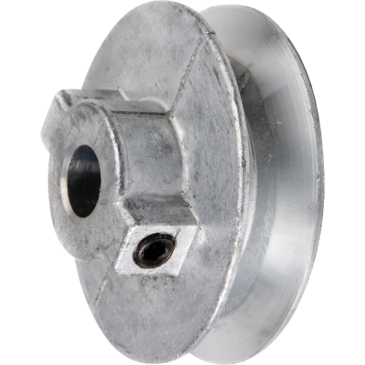 Chicago Die Casting 8 In. x 1/2 In. Single Groove Pulley