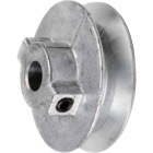 Chicago Die Casting 8 In. x 1/2 In. Single Groove Pulley Image 1
