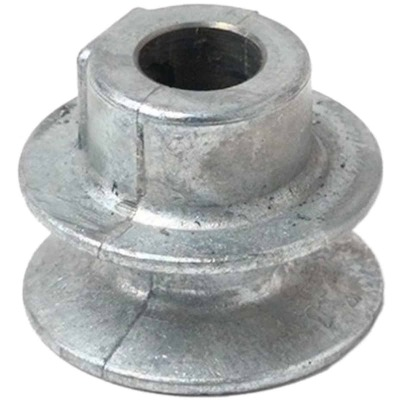 Chicago Die Casting 1-1/2 In. x 1/2 In. Single Groove Pulley