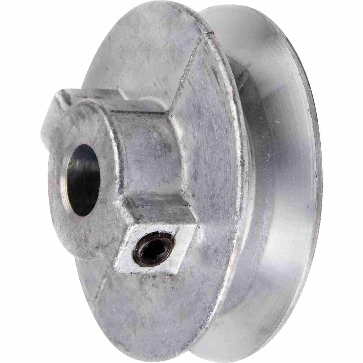 Chicago Die Casting 4 In. x 5/8 In. Single Groove Pulley Image 1