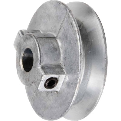Chicago Die Casting 4 In. x 3/4 In. Single Groove Pulley