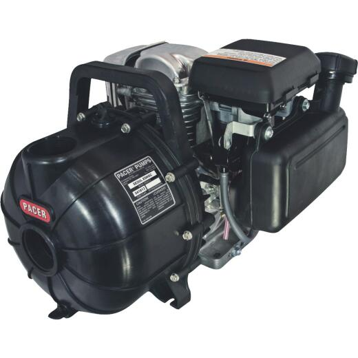 Pacer Pumps 5.5 HP Self-Priming Gas Engine Transfer Pump