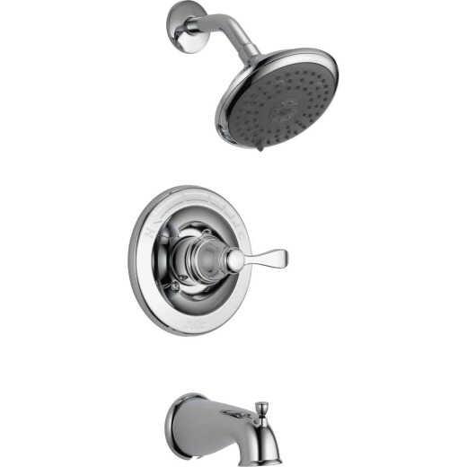 Delta Porter Chrome 1-Handle Lever Tub & Shower Faucet