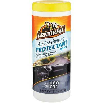 Armor All New Car Scent Air Freshening Protectant Wipe (25-Count)