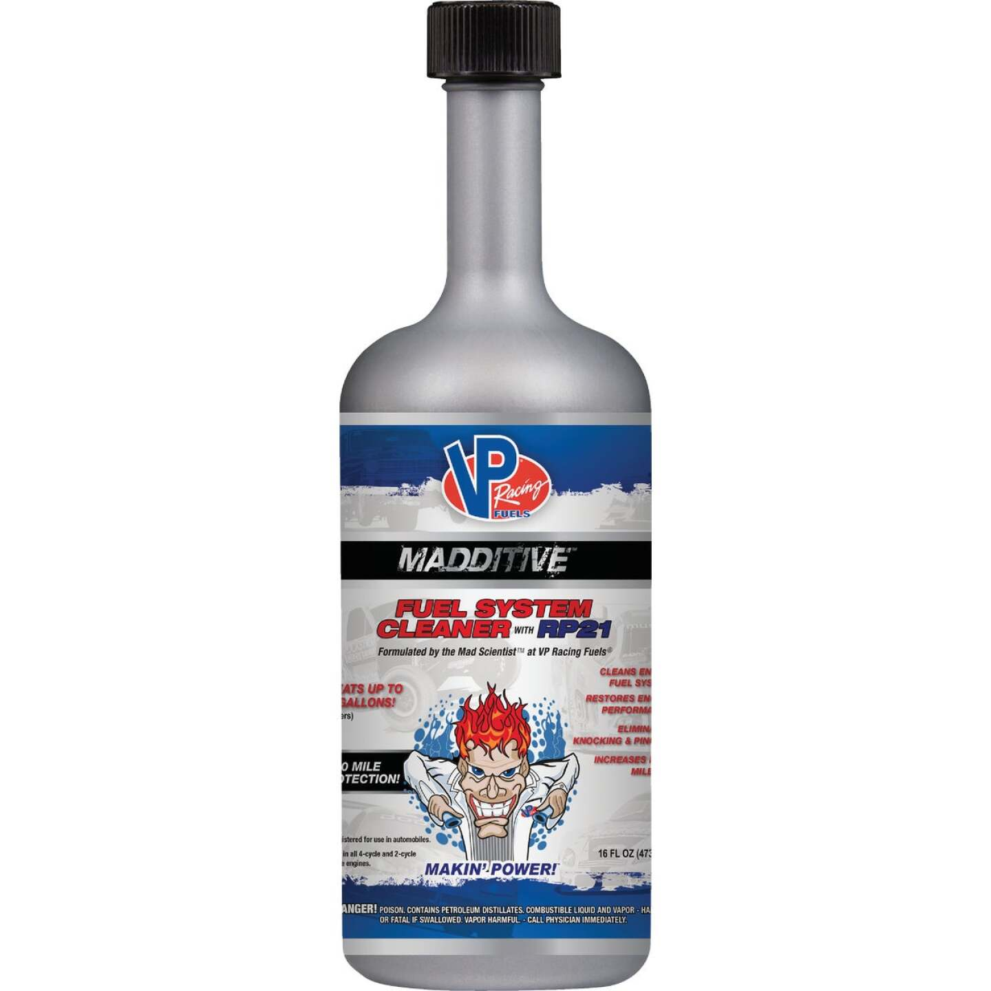 VP Racing Fuels MADDITIVE 16 Fl. Oz. Fuel System Cleaner Image 1