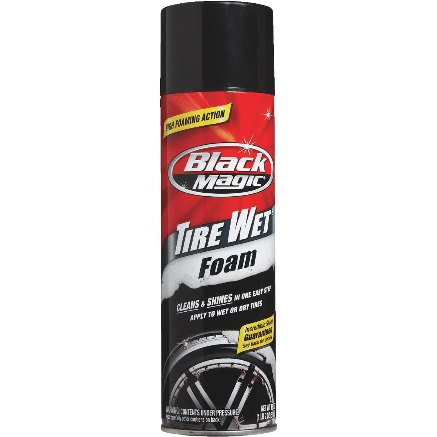 Black Magic 18 Oz. Aerosol Spray Tire Cleaner Image 2