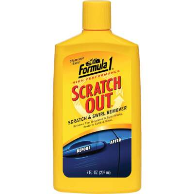 Formula 1 Scratch Out 7 Oz. Liquid Scratch & Swirl Remover Polishing Compound