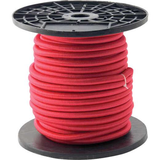 "Erickson 3/8"" x 100' Red Bulk Bungee Cord"