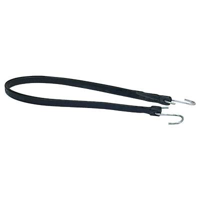 35.5 In. Hook-to-Hook Black Rubber Tarp Strap