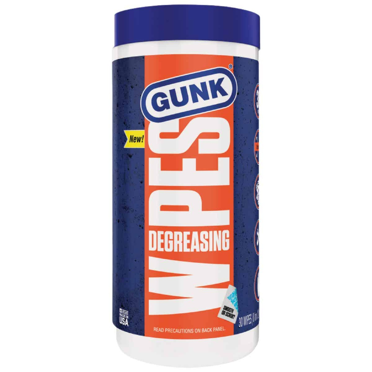 Gunk Degreasing Engine Cleaner Wipes (30-Count) Image 1