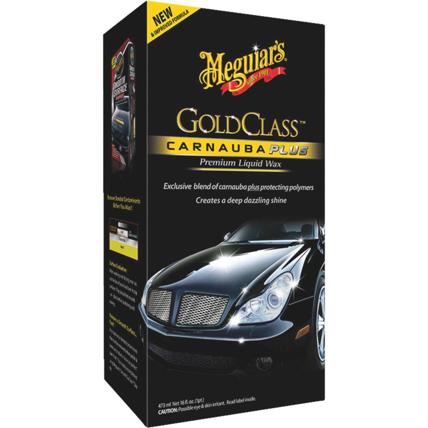 Meguiars Gold Class 16 oz Liquid Car Wax Image 1