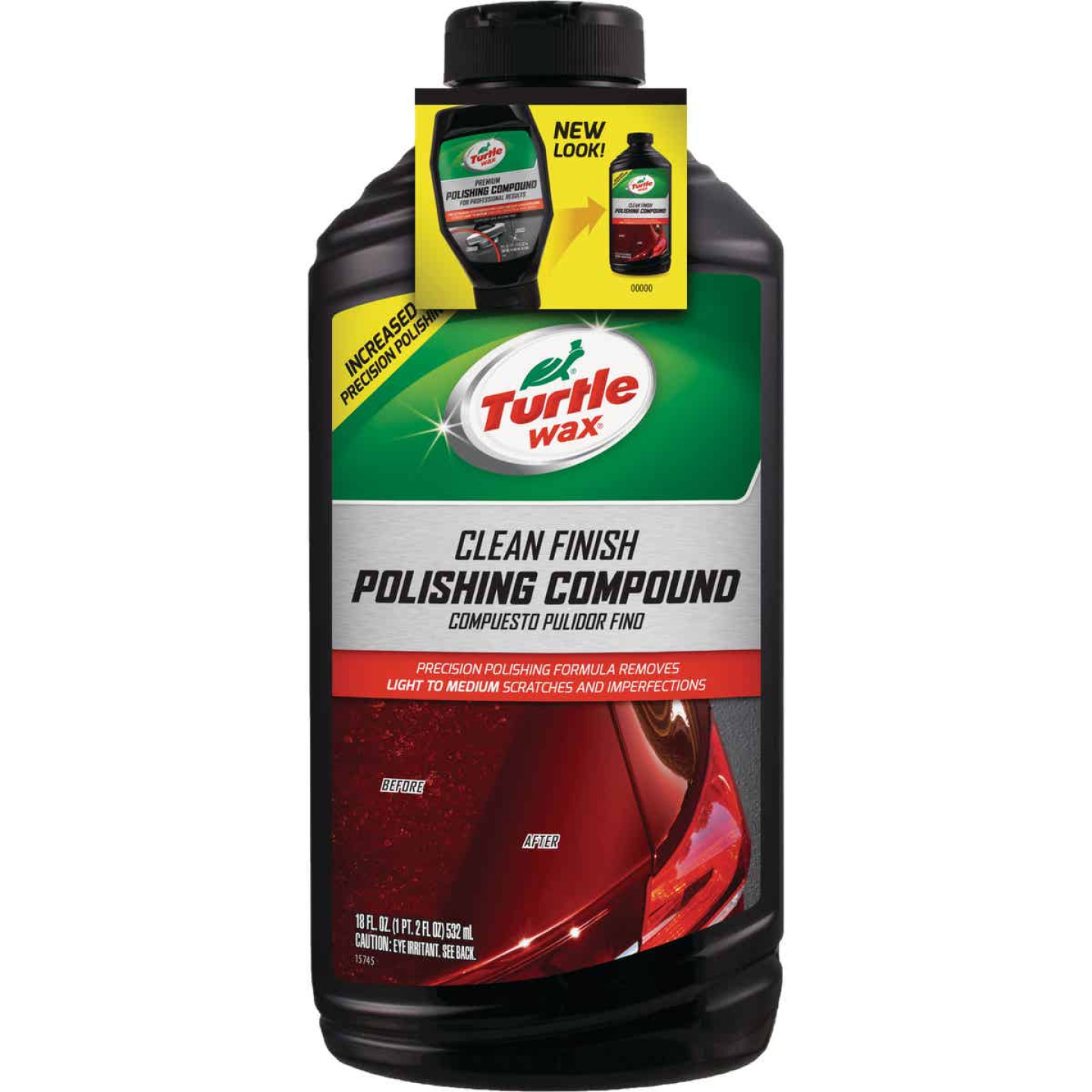 Turtle Wax RENEW Rx 18oz Liquid Polishing Compound Image 1