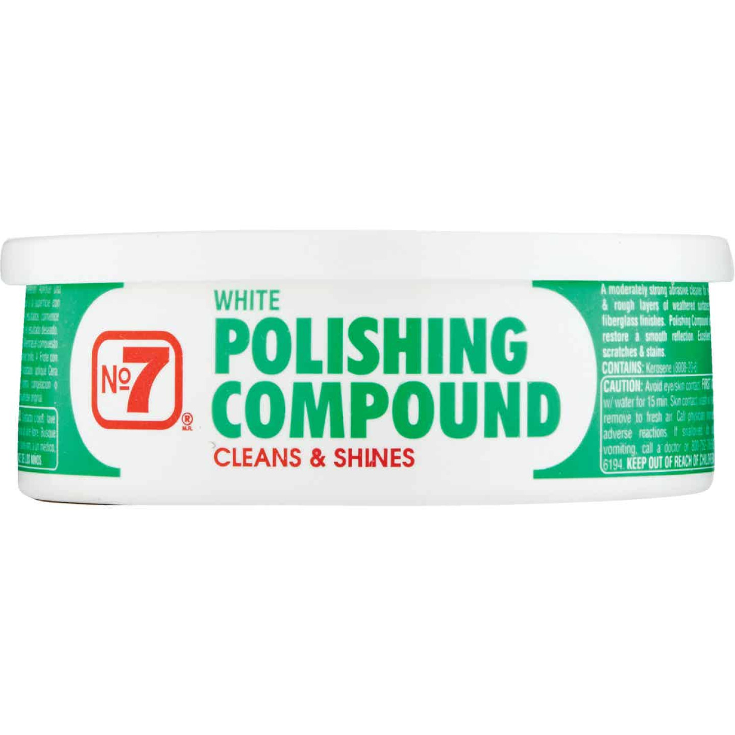 NO. 7, 10 Oz. Paste White Polishing Compound Image 2