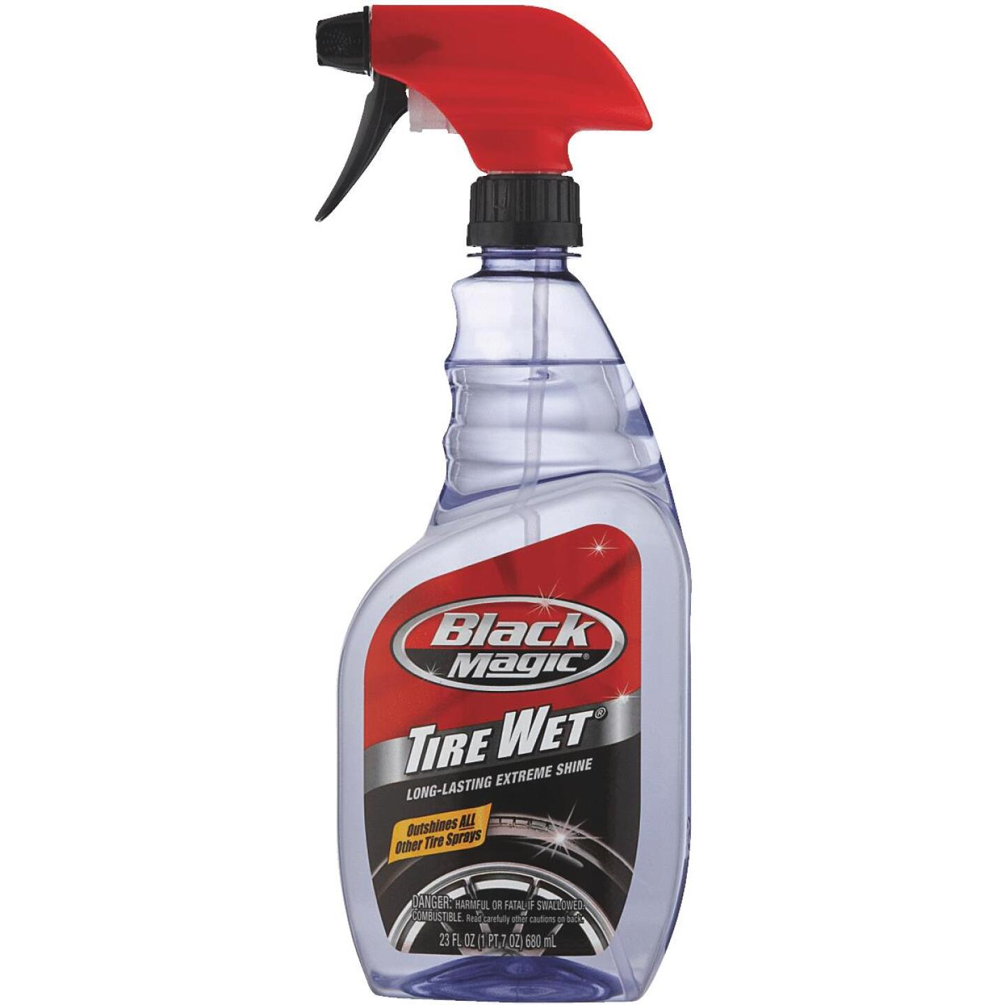 Black Magic 23 oz Trigger Spray Tire Cleaner Image 1