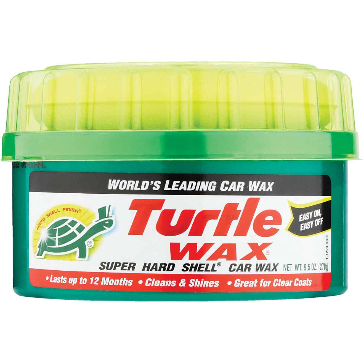 Turtle Wax Super Hard Shell Paste 9.5 Oz. Car Wax Image 2