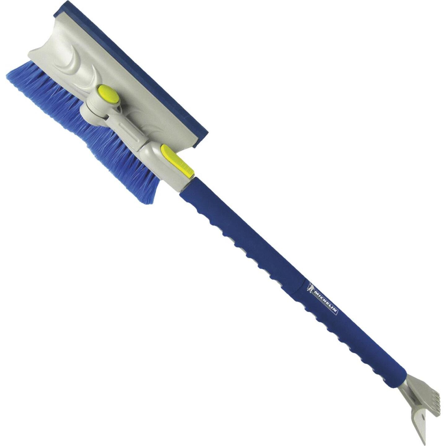 Michelin Colossal 50 In. Steel Extendable Snowbrush with Scraper and Ice Chipper Image 1