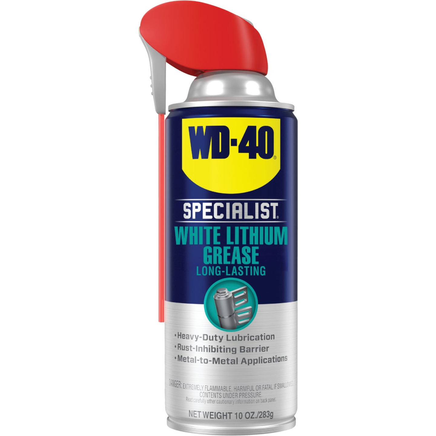 WD-40 Specialist 10 Oz. Aerosol Protective White Lithium Grease Image 1
