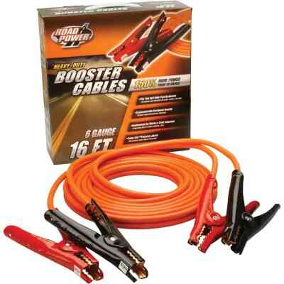Road Power 16' 6 Gauge Booster Cable