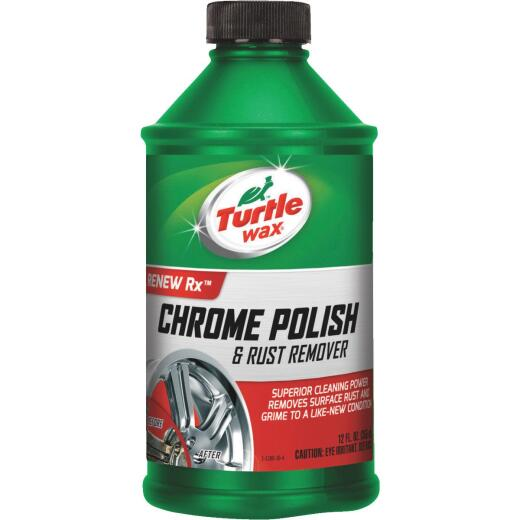 Turtle Wax RENEW Rx Liquid 12 oz Chrome Polish