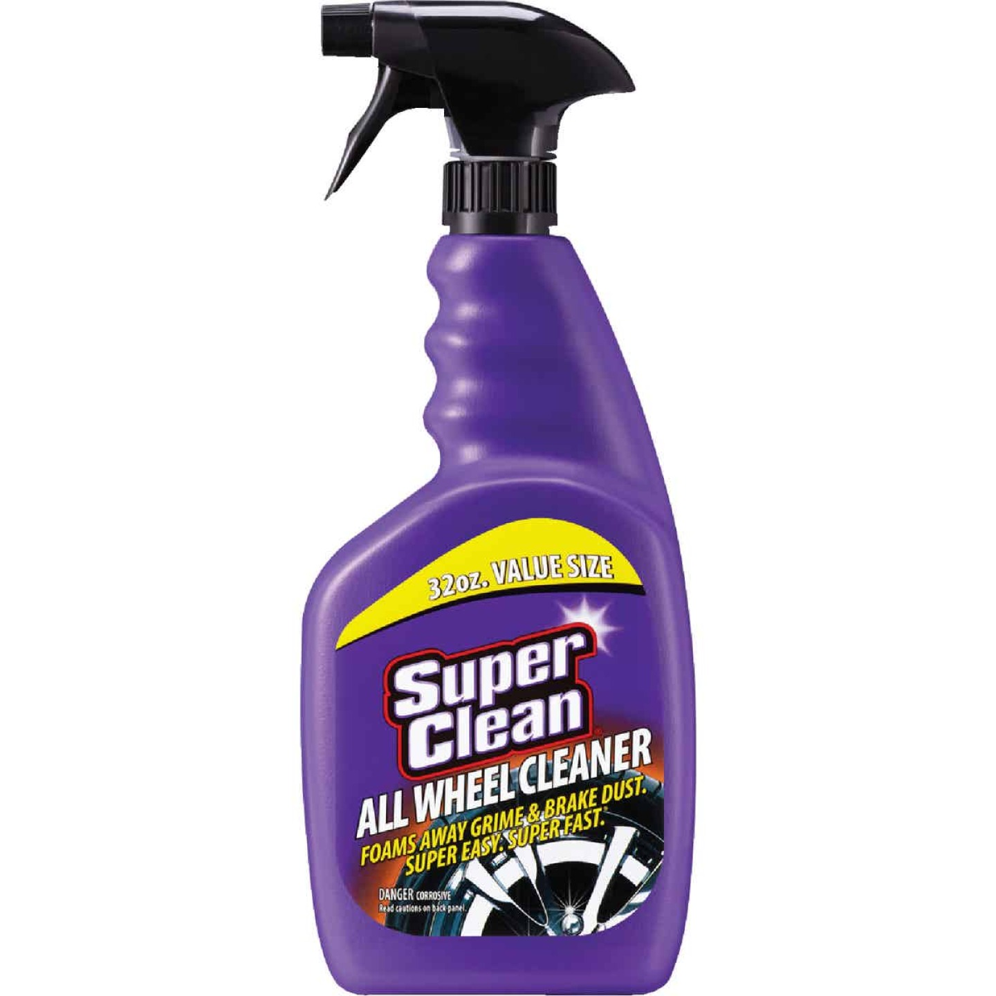 Superclean 32 oz Trigger Spray Wheel Cleaner Image 1