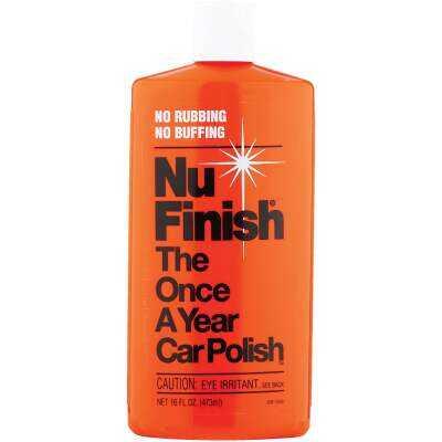 Nu Finish 16 Oz. Liquid Car Wax