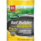 Scotts Turf Builder Weed & Feed 43.07 Lb. 15,000 Sq. Ft. 28-0-3 Lawn Fertilizer with Weed Killer Image 1