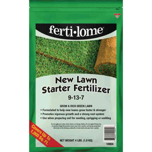 Ferti-lome 4 Lb. 1000 Sq. Ft. 9-13-7 New Lawn Starter Fertilizer