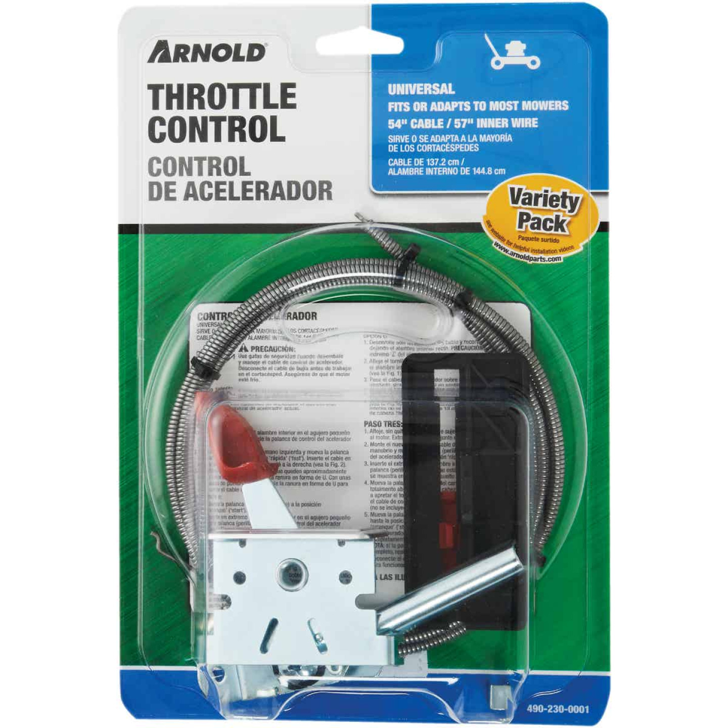 Arnold Universal Deluxe T-Knob Throttle Control Image 2
