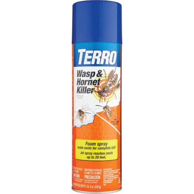Terro 19 Oz. Foaming Aerosol Spray Wasp & Hornet Killer