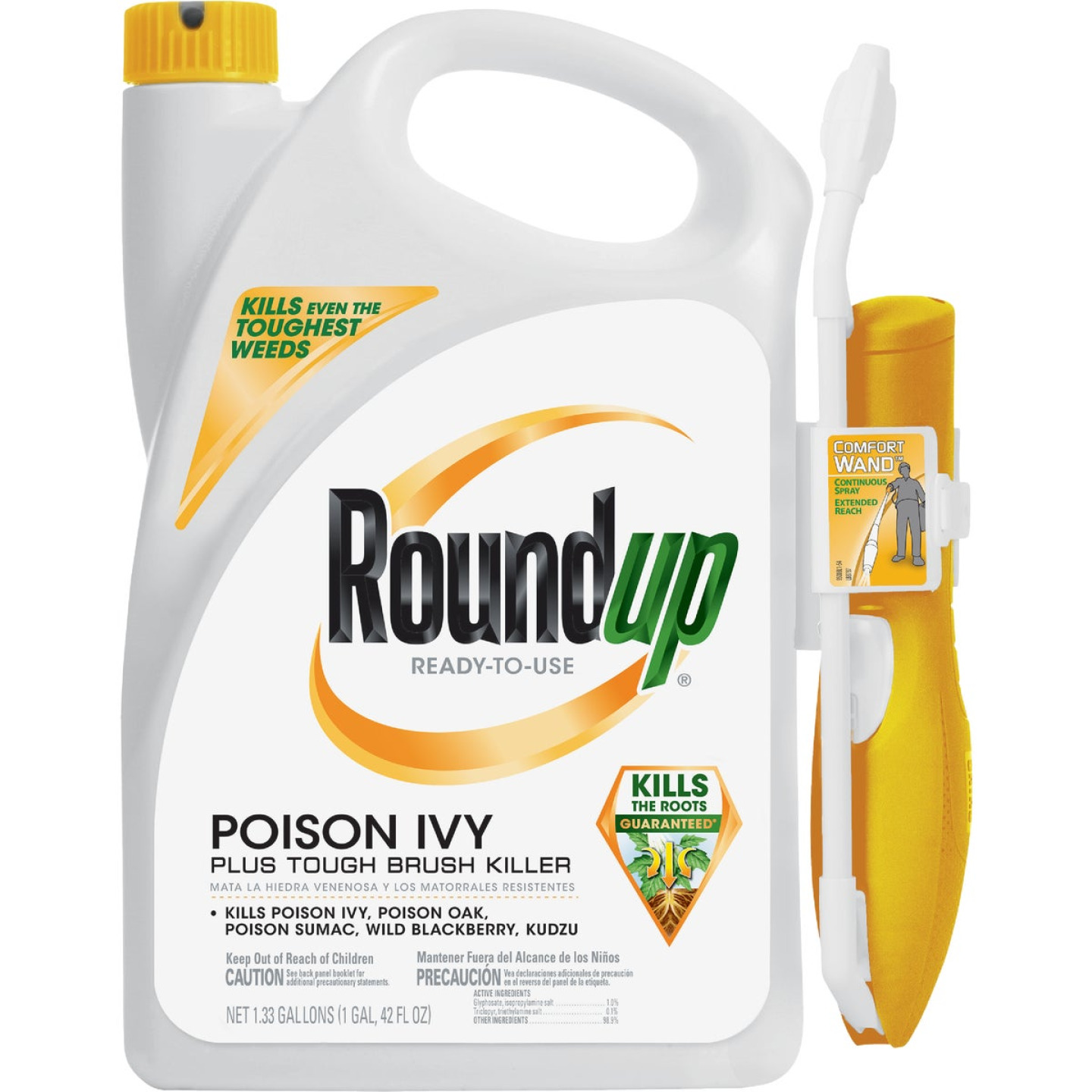 Roundup 1.33 Gal. Ready-To-Use Poison Oak & Ivy Killer with Comfort Wand Image 1