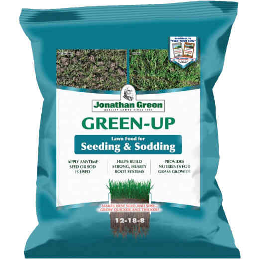 Jonathan Green Green-Up 17 Lb. 5000 Sq. Ft. 12-18-8 New Seeding Starter Fertilizer