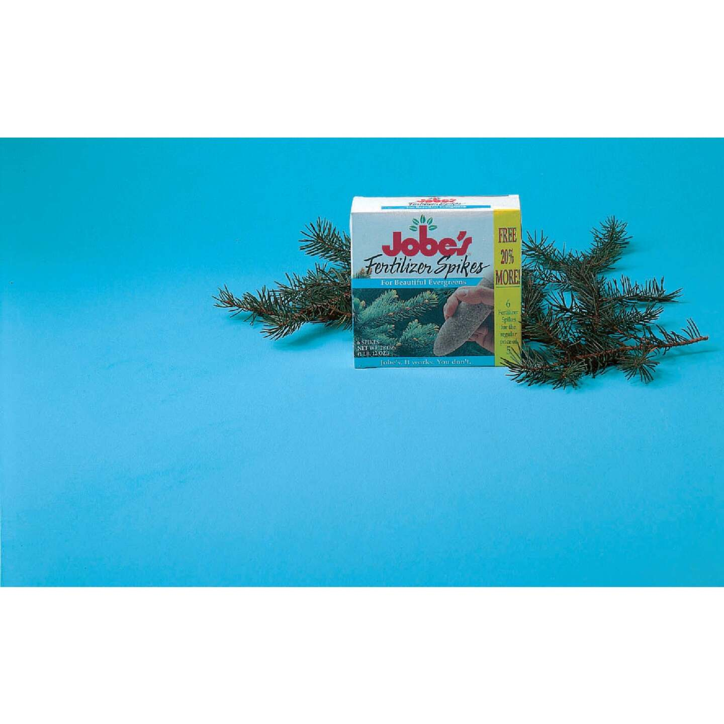 Jobe's Evergreen 13-3-4 Tree & Shrub Fertilizer Spikes (5-Pack) Image 2
