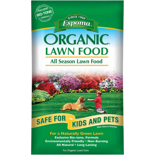 Espoma Organic 29 Lb. 5000 Sq. Ft. 9-0-0 All Season Lawn Fertilizer
