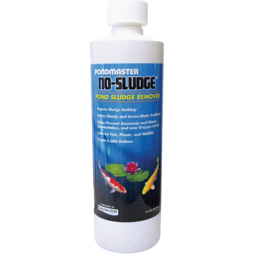 PondMaster No-Sludge 16 Oz. 4000 Gal. Coverage Area Water Treatment