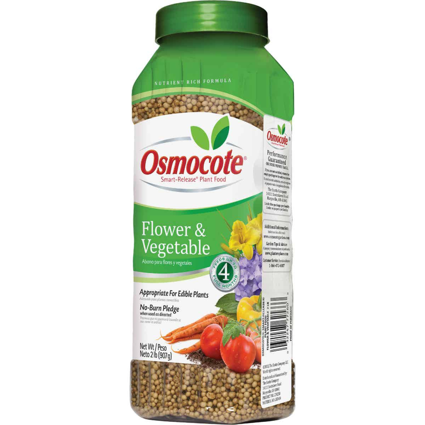 Osmocote 2 Lb. 14-14-14 Flower & Vegetable Smart Release Dry Plant Food Image 1