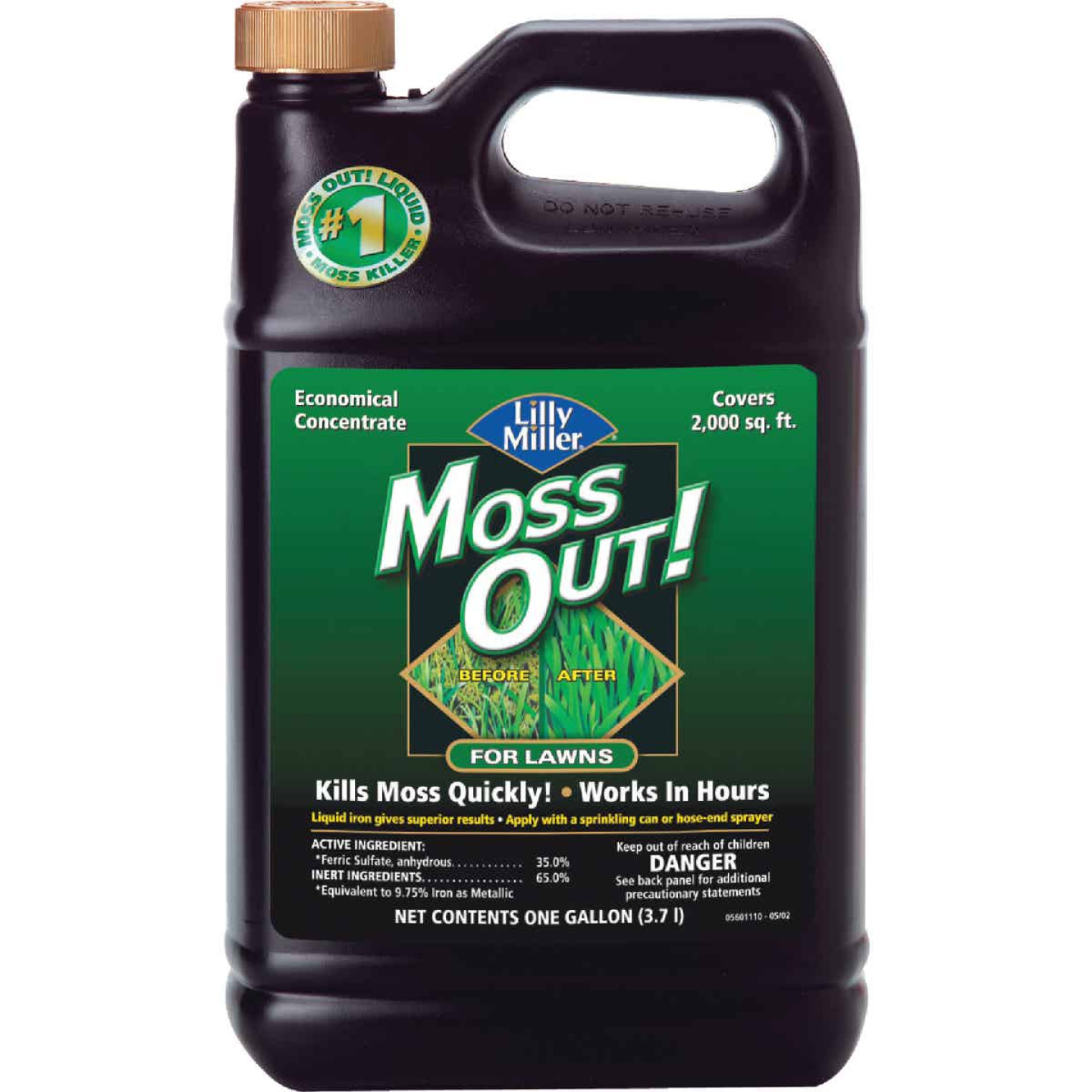 Lilly Miller MOSS OUT! 1 Gal. Concentrate Moss & Algae Killer Image 1