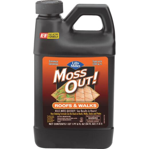Lilly Miller MOSS OUT! 54 Oz. Concentrate Moss & Algae Killer