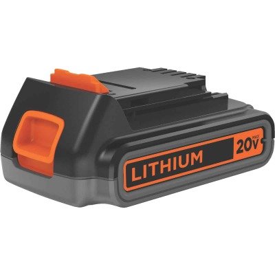 Black & Decker 20V MAX 2.0 Ah Tool Replacement Battery