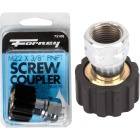 Forney M22Fx 3/8 In. Female Screw Pressure Washer Coupling Image 1