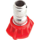 Forney Quick Connect 4.5mm 0 Deg. Red Pressure Washer Spray Tip Image 3