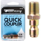 Forney 1/4 In. Male Quick Connect Pressure Washer Plug Image 1