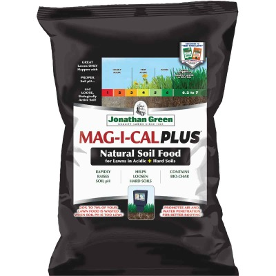 Jonathan Green MAG-I-CAL Plus 54 Lb. 15,000 Sq. Ft. 28% Calcium Lawn Fertilizer For Acidic Soil