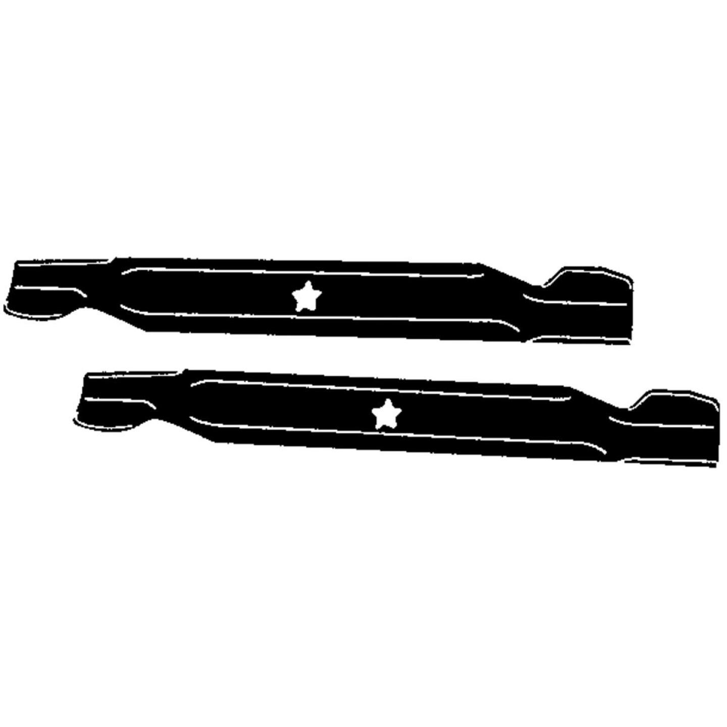 Arnold 21 In. Replacement Tractor Mower Blade Set Image 1