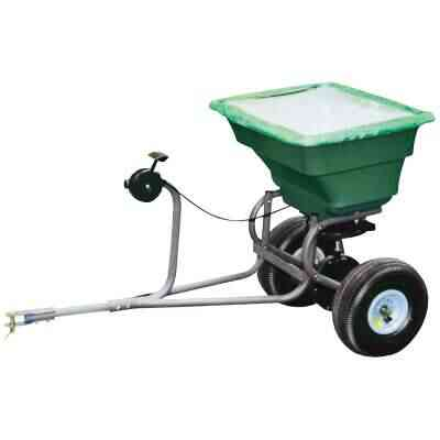 Precision 75 Lb. Self-Lubricationg Tow Broadcast Fertilizer Spreader