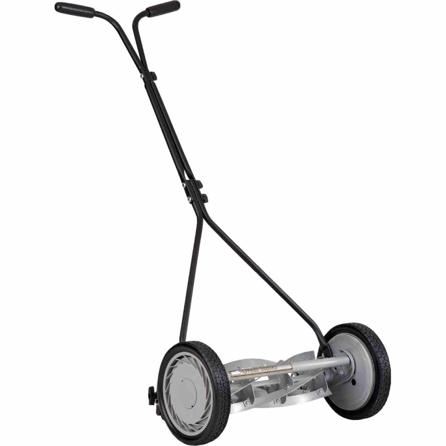 Great States 16 In. Push Reel Lawn Mower Image 1