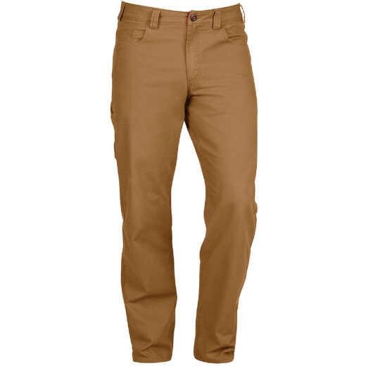 Milwaukee Flex Khaki 30 x 34 Heavy-Duty Work Pants