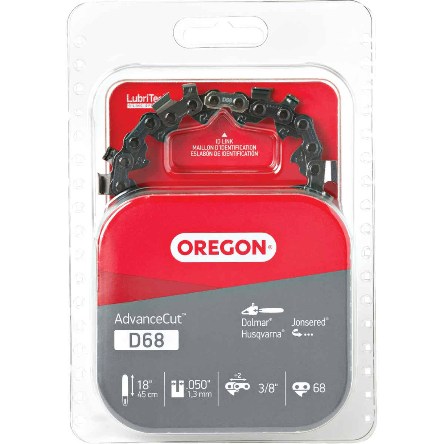 Oregon AdvanceCut D68 18 In. Chainsaw Chain Image 1