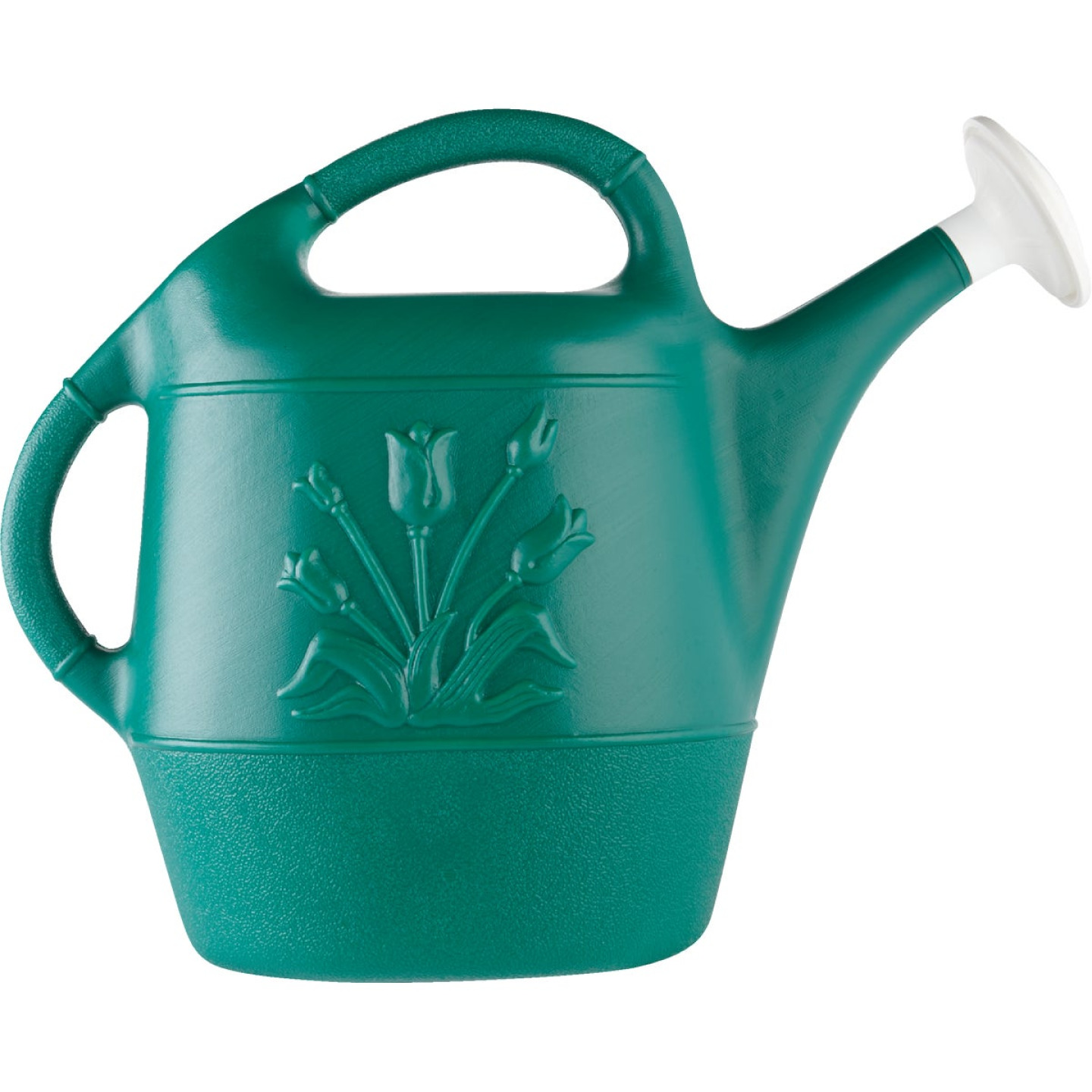 United Solutions 2 Gal. Hunter Green Poly Watering Can Image 2