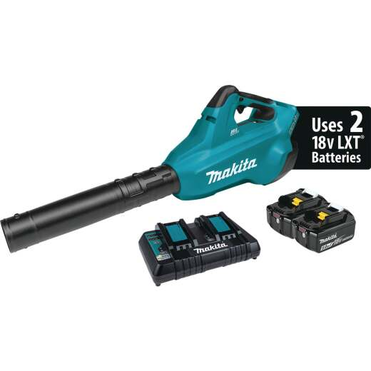 Makita 120 MPH 18V X2 (36V) LXT Lithium-Ion Brushless (5.0Ah) Cordless Blower Kit