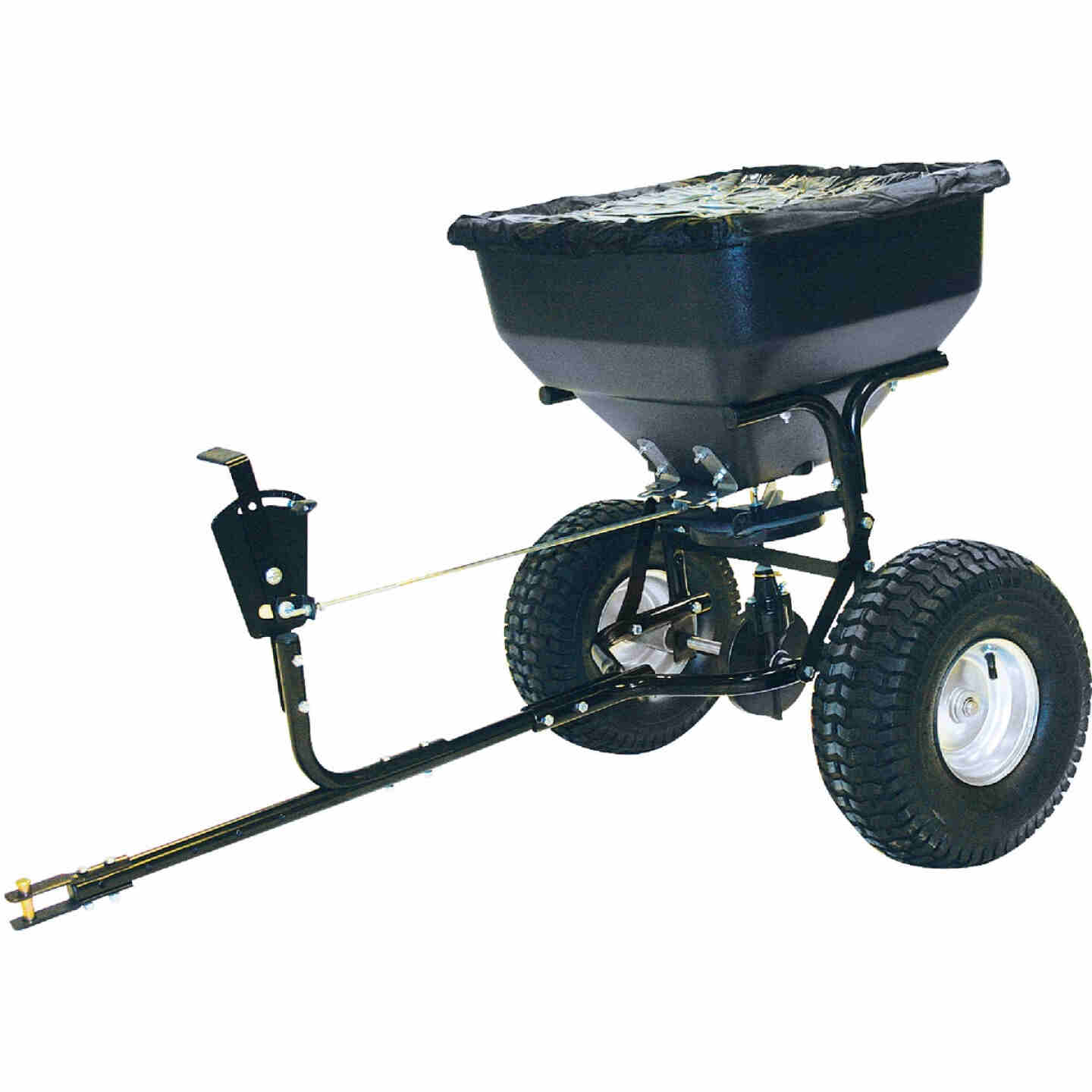 Precision Direct Drive 130 Lb. Tow Broadcast Fertilizer Spreader Image 1